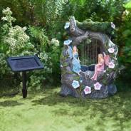 Solar Fairy Rainfall Fountain 2