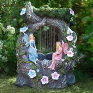 Solar Fairy Rainfall Fountain 1