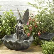 Solar Fairy Water Fountain 1