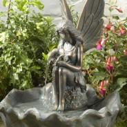 Solar Fairy Water Fountain 2