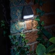 Solar Fence, Wall & Post Light 1