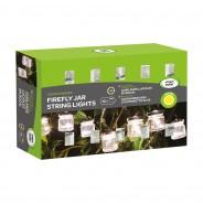 Solar Firefly Jar String Lights 3
