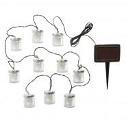 Solar Firefly Jar String Lights 2