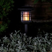 Solar Flickering Lantern With Triple Mount 1