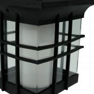 Solar Flickering Lantern With Triple Mount 4