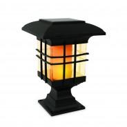 Solar Flickering Lantern With Triple Mount 2