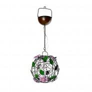 Solar Flower Ball Hanging Light 2