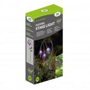 Solar Fuchsia Stake Light 4