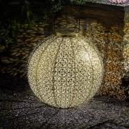 Solar Giant Damasque Lantern 1