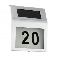 Solar House Number Sign 2