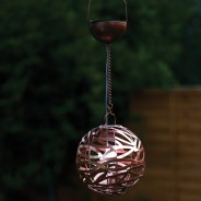 Solar Infinity Hanging Light 2 Copper