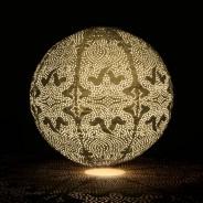 Solar Lanterns 20 Gold Globe