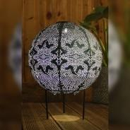 Solar Lanterns 18 Globe in stand