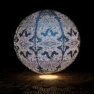 Solar Lanterns 17 Blue Globe