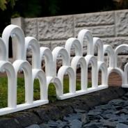 Solar LED Garden Fence Border 2