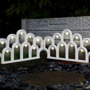 Solar LED Garden Fence Border 1