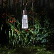Solar Lighthouse Lantern Stake Light 6