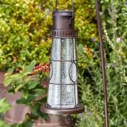 Solar Lighthouse Lantern Stake Light 5