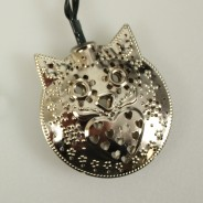 Solar Metal Owl Fairy Lights  4
