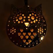 Solar Metal Owl Fairy Lights  3