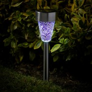 Solar Mosaic Stake Light - 6pk 3