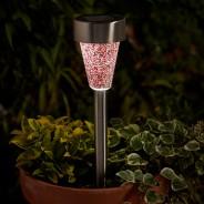 Solar Mosaic Stake Light - 6pk 4