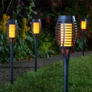 Solar Party Flaming Torch (5 pack)  1