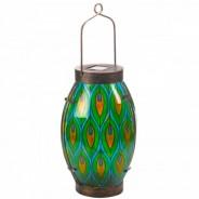 Solar Peacock Lantern 3