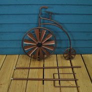 Solar Penny Farthing Wind Spinner 4