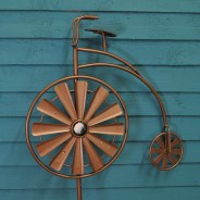 Solar Penny Farthing Wind Spinner 3