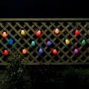 20 Colour Change Solar Party Lights 1