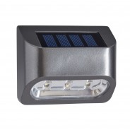 Solar Premier Fence, Wall and Post Light (4 pack) 4