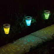 Solar Silhouette Butterfly Stake Lights (6 pack) 4