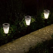 Solar Silhouette Butterfly Stake Lights (6 pack) 5