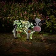 Solar Silhouette Daisy Cow 2
