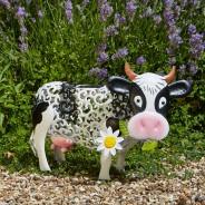 Solar Silhouette Daisy Cow 5