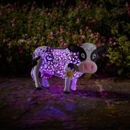 Solar Silhouette Daisy Cow 4