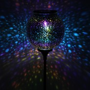 Solar Sphere Stargazer Stake Light 1