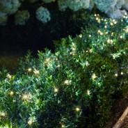 200 LED Warm White Solar String Lights 3