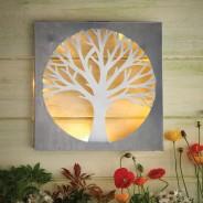 Solar Wall Art - Tree by Eden Bloom 1
