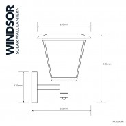 Solar Windsor Wall Light 3