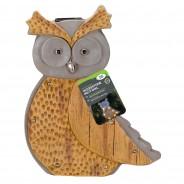 Solar Woodstone Inlit Owl 2