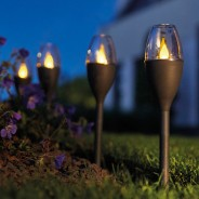 Solar Mini Candle Stake Light 3