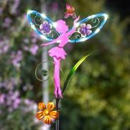 Solar Fairy Wings (Single Stake Light) 4