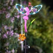 Solar Fairy Wings (Single Stake Light) 2
