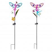 Solar Fairy Wings (Single Stake Light) 6