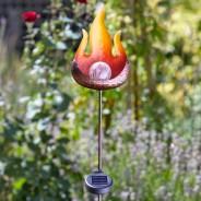 Solar Flame Stake Light 4