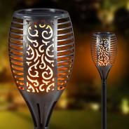 Solar Flickering Flame Garden Torch  1