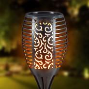 Solar Flickering Flame Garden Torch  2