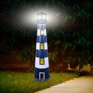 Large Solar Revolving Light House 1